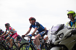 Katie Archibald (GBR) of Team WNT rides mid-pack during the fourth lap of the Durango-Durango Emakumeen Saria - a 113 km road race, starting and finishing in Durango on May 16, 2017, in the Basque Country, Spain.