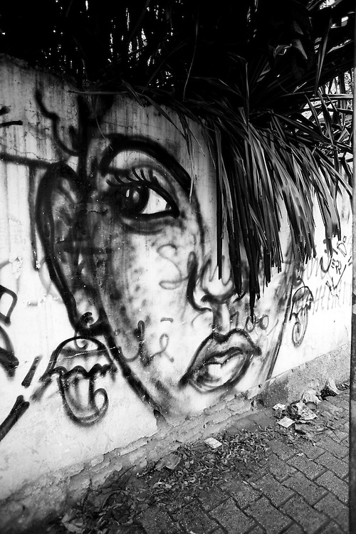 Grafiti. Port Au Prince, Haiti. Photo by Ben Depp