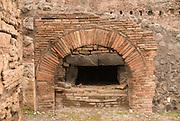 bakery in old Pompeji, Italy