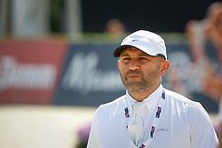 Al Duhami Ramzi (KSA) <br /> Furusiyya FEI Nations Cup Jumping Final Round 1<br /> CSIO Barcelona 2013<br /> © Dirk Caremans