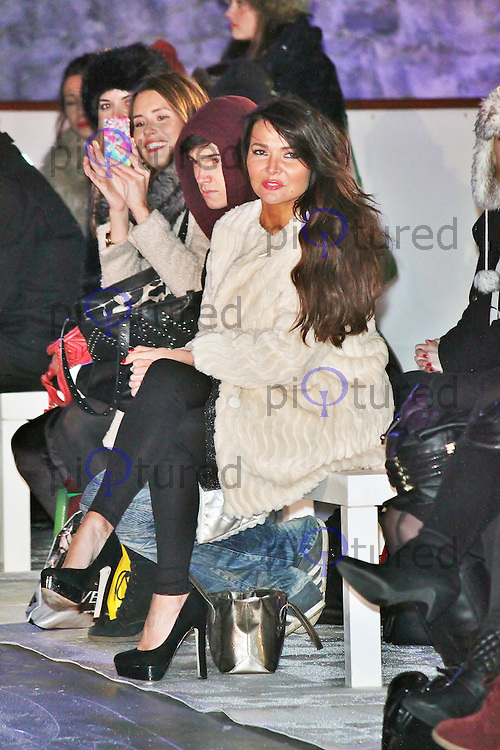 LONDON - December 10: Lizzie Cundy at the Very.co.uk - Catwalk Event (Photo by Brett D. Cove)