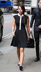 Image ©Licensed to i-Images Picture Agency. 20/06/2014. London, United Kingdom. Tulisa Contostavlos arrives at Crown Court. Singer Tulisa Contostavlos from The N-Dubz arrives today at court for hearing after being charged with helping an undercover reporter obtain 13.9g (0.5oz) of the Class A drug for £860. Southwark Crown Court. Picture by Daniel Leal-Olivas / i-Images