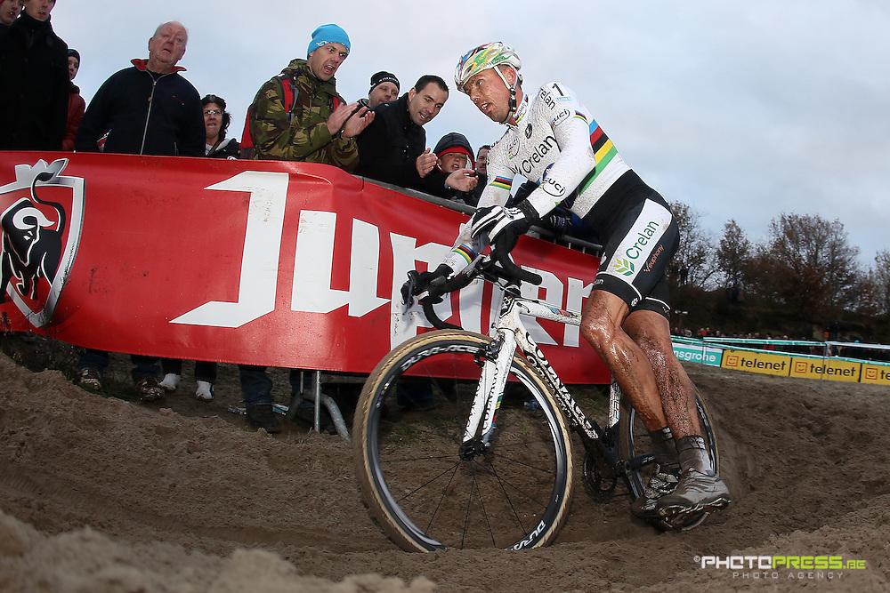 NETHERLANDS / NEDERLAND / PAYS BAS / GIETEN / CYCLING / WIELRENNEN / CYCLISME / CYCLOCROSS / VELDRIJDEN /  HANSGROHE SUPERPRESTIGE VELDRIJDEN / SVEN NYS /