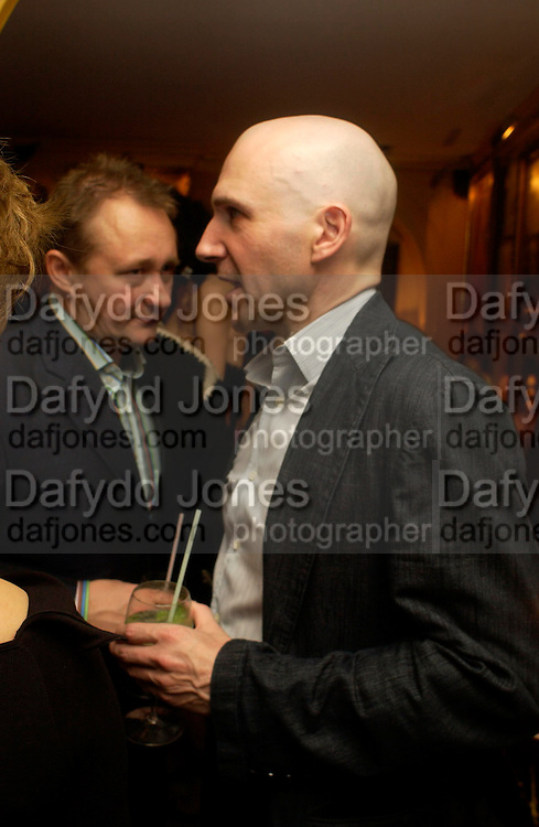 Ralph Fienness. Artists Independent Networks  Pre-BAFTA Party at Annabel's co hosted by Charles Finch and Chanel. Berkeley Sq. London. 11 February 2005. . ONE TIME USE ONLY - DO NOT ARCHIVE  © Copyright Photograph by Dafydd Jones 66 Stockwell Park Rd. London SW9 0DA Tel 020 7733 0108 www.dafjones.com