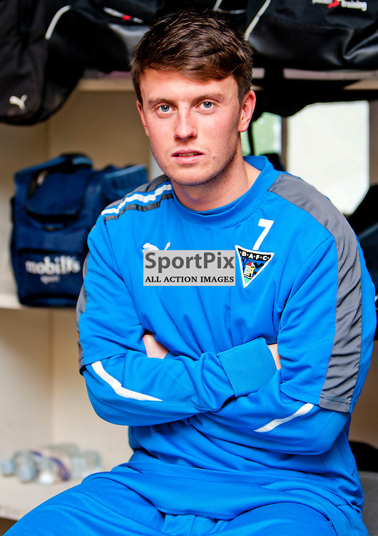 The Clydesdale Bank Scottish Premier League, Season 2011/12.Dunfermline Athletic Football Club - Pre match news conference (Celtic FC).29-12-11...Joe Cardle in this afternoons Dunfermline Athletic FC Pre match news conference...At Pitreavie- Dunfermline Academy of sport, Dunfermline...Picture, Craig Brown ..Thursday 29th December 2011.
