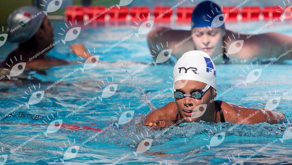 BALMY Coralie, France<br /> 400m Freestyle - Women<br /> 50 Settecolli Trofeo Internazionale di nuoto 2013<br /> swimming<br /> Roma, Foro Italico  12 - 15/06/2013<br /> Day01<br /> Photo Lucianna Salvemini/Deepbluemedia/Insidefoto