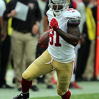 San Francisco 49ers wide receiver Anquan Boldin (81) during an NFL football game between the San Francisco 49ers  and the Tampa Bay Buccaneers on Sunday, December 15, 2013 at Raymond James Stadium in Tampa, Florida.. (Photo/Alex Menendez)