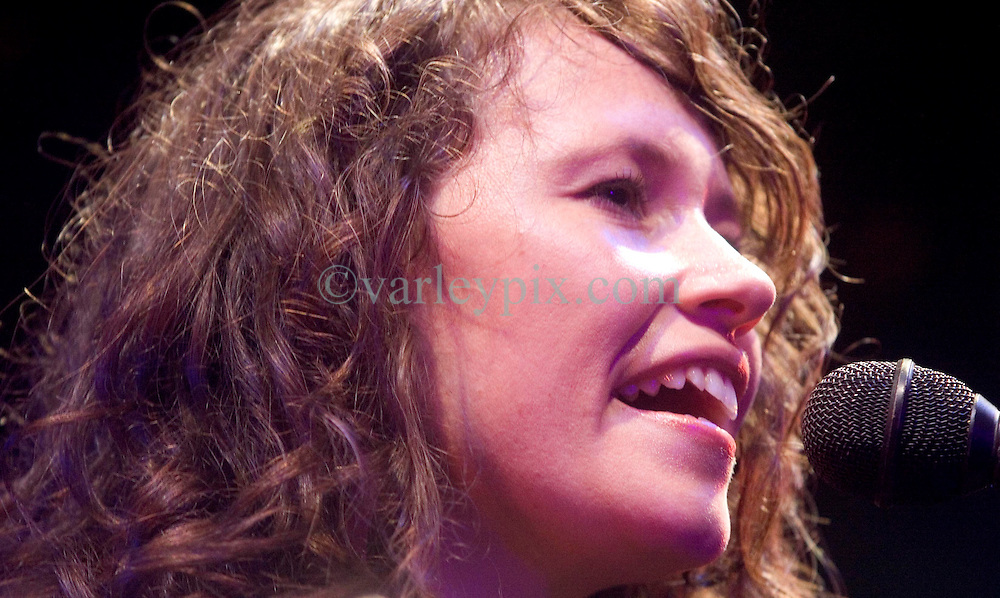 17 December, 05. Tipitina's, New Orleans, Louisiana. <br /> Arlo Guthrie and friends Riding on the city of New Orleans tour benefiting Musicares Hurricane relief 2005 sponsored by Amtrak. Sarah Lee Guthrie   wows the crowd on the last date of the hugely successful tour raising money for hard hit New Orleans musicians.<br /> Photo; ©Charlie Varley/varleypix.com