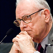 "Lee Hamilton. Panel: FAA Response on 9/11. The 9/11 Commission's 12th public hearing on ""The 9/11 Plot"" and ""National Crisis Management"" was held June 16-17, 2004, in Washington, DC."