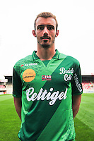 Hugo GUICHARD - 16.09.2014 - Photo officielle Guingamp - Ligue 1 2014/2015<br /> Photo : Philippe Le Brech / Icon Sport