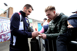 Thomas Heaton of Burnley signs autographs for fans - Mandatory by-line: Robbie Stephenson/JMP - 23/04/2017 - FOOTBALL - Turf Moor - Burnley, England - Burnley v Manchester United - Premier League