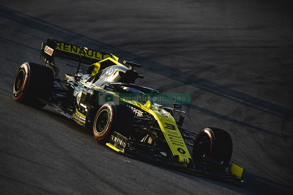 February 28, 2019 - Barcelona, Catalonia, Spain - DANIEL RICCIARDO (AUS) from team Renault drives in his RS19 during day seven of the Formula One winter testing at Circuit de Catalunya (Credit Image: © Matthias Oesterle/ZUMA Wire)