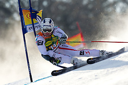 Romed Baumann of Austria competes during 1st Run of Men's Giant Slalom of FIS Ski World Cup Alpine Kranjska Gora, on March 5, 2011 in Vitranc/Podkoren, Kranjska Gora, Slovenia.  (Photo By Vid Ponikvar / Sportida.com)