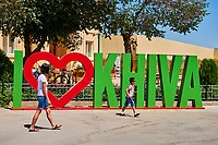 Ouzbekistan, Khiva, patrimoine mondial de l UNESCO // Uzbekistan, Khiva, Unesco World Heritage