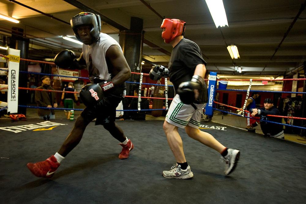 Gleason's Gym, Dumbo, Brooklyn, New York...