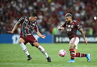2019-10-20 Rio de Janeiro, Brazil soccer match between the teams of Flamengo and Fluminense , validated by the Brazilian Football Championship  Photo by André Durão / Swe Press Photo