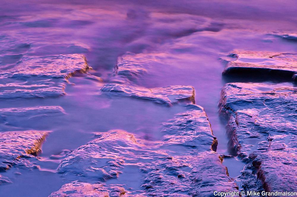 Dusk on the Otonabee River at Burleigh Falls<br />Burleigh Falls<br />Ontario<br />Canada