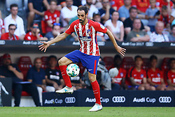 August 1, 2017 - Munich, Germany - Juanfran of Atletico de Madrid during the first Audi Cup football match between Atletico Madrid and SSC Napoli in the stadium in Munich, southern Germany, on August 1, 2017. (Credit Image: © Matteo Ciambelli/NurPhoto via ZUMA Press)