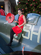 "LAURA WRIGHT.promotes the start of the London Poppy Day Appeal on a spitfire in Trafalgar Square, London_01/11/2012.Mandatory Credit Photo: ©A Harlen/NEWSPIX INTERNATIONAL..**ALL FEES PAYABLE TO: ""NEWSPIX INTERNATIONAL""**..IMMEDIATE CONFIRMATION OF USAGE REQUIRED:.Newspix International, 31 Chinnery Hill, Bishop's Stortford, ENGLAND CM23 3PS.Tel:+441279 324672  ; Fax: +441279656877.Mobile:  07775681153.e-mail: info@newspixinternational.co.uk"