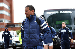 Bristol Bears Head Coach Pat Lam arrives at Welford Road - Mandatory byline: Patrick Khachfe/JMP - 07966 386802 - 27/04/2019 - RUGBY UNION - Welford Road - Leicester, England - Leicester Tigers v Bristol Bears - Gallagher Premiership Rugby