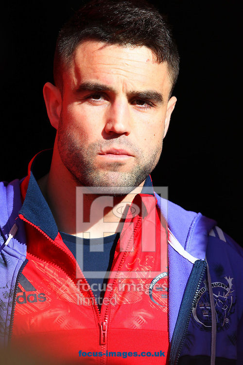 Connor Murray of Munster during the European Rugby Champions Cup match at Thomond Park, Limerick<br /> Picture by Yannis Halas/Focus Images Ltd +353 8725 82019<br /> 01/04/2017