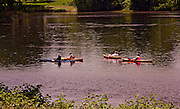 Northcentral Pennsylvania, Kayaks, West Branch, Susquehanna River, Lewisburg, Union County