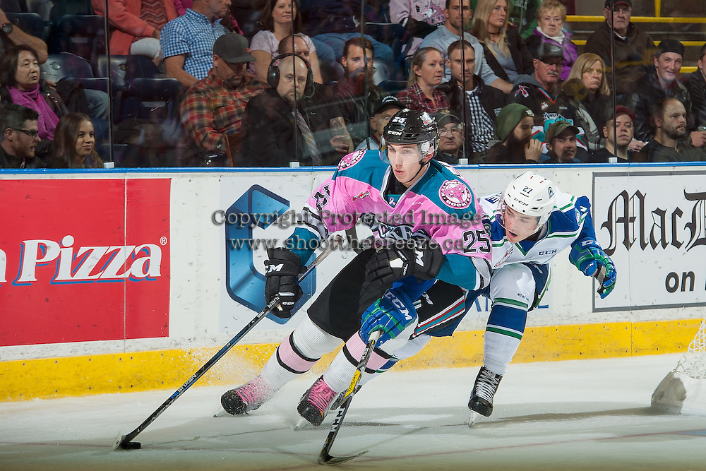 KELOWNA, CANADA - OCTOBER 15:  on October 15, 2016 at Prospera Place in Kelowna, British Columbia, Canada.  (Photo by Marissa Baecker/Getty Images)  *** Local Caption ***
