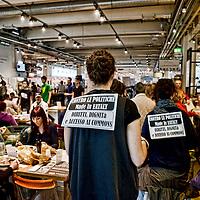 Festa del Lavoro: precarietà Made in Eataly