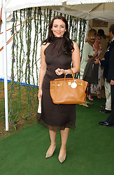 MARTINE McCUTCHEON at the 2005 Cartier International Polo between England & Australia held at Guards Polo Club, Smith's Lawn, Windsor Great Park, Berkshire on 24th July 2005.<br /><br />NON EXCLUSIVE - WORLD RIGHTS