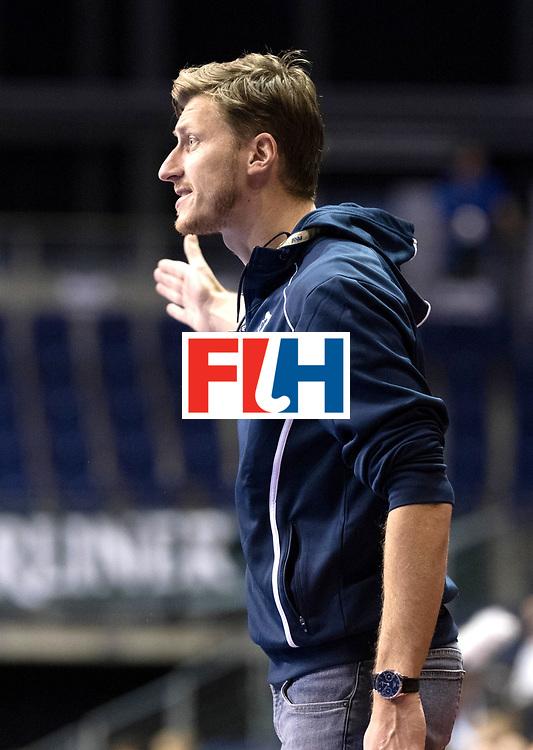 BERLIN - Indoor Hockey World Cup<br /> Women: Czech Republic - Germany<br /> foto: Filip Neusser.<br /> WORLDSPORTPICS COPYRIGHT FRANK UIJLENBROEK