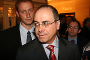 Silvan Shalom - Memeber of Parliament from the Likud party, Israeli Deputy Prime Minister and Minister of Foreign Affairs. Photographed on December 2005