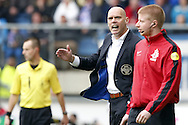 Onderwerp/Subject: Eredivisie<br /> Reklame:  <br /> Club/Team/Country: <br /> Seizoen/Season: 2012/2013<br /> FOTO/PHOTO: Coach Jurgen STREPPEL (L) of Willem II in discussion with official VAN DEN HEUVEL (R). (Photo by PICS UNITED)<br /> <br /> Trefwoorden/Keywords: <br /> #03 #08 $94 ±1355241558607 ±1355241558607<br /> Photo- & Copyrights © PICS UNITED <br /> P.O. Box 7164 - 5605 BE  EINDHOVEN (THE NETHERLANDS) <br /> Phone +31 (0)40 296 28 00 <br /> Fax +31 (0) 40 248 47 43 <br /> http://www.pics-united.com <br /> e-mail : sales@pics-united.com (If you would like to raise any issues regarding any aspects of products / service of PICS UNITED) or <br /> e-mail : sales@pics-united.com   <br /> <br /> ATTENTIE: <br /> Publicatie ook bij aanbieding door derden is slechts toegestaan na verkregen toestemming van Pics United. <br /> VOLLEDIGE NAAMSVERMELDING IS VERPLICHT! (© PICS UNITED/Naam Fotograaf, zie veld 4 van de bestandsinfo 'credits') <br /> ATTENTION:  <br /> © Pics United. Reproduction/publication of this photo by any parties is only permitted after authorisation is sought and obtained from  PICS UNITED- THE NETHERLANDS