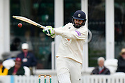 Rilee Rossouw of Hampshire batting during the opening day of the Specsavers County Champ Div 1 match between Somerset County Cricket Club and Hampshire County Cricket Club at the Cooper Associates County Ground, Taunton, United Kingdom on 11 May 2018. Picture by Graham Hunt.