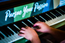Pursue your passion, piano player.