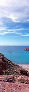 Overlooking El Embudo (The Funnel) on Isla Partida in the Sea of Cortez
