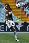 Udine, 08/05/2011.Campionato di calcio Serie A 2010/2011. 36^ giornata..Udinese vs Lazio. Stadio Friuli..Nella Foto: Giuseppe Biava..Foto di Simone Ferraro