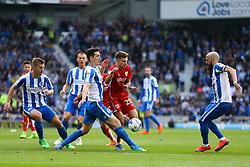 Jamie Paterson of Bristol City tries to break through Brighton & Hove Albion defence - Mandatory by-line: Jason Brown/JMP - 29/04/2017 - FOOTBALL - Amex Stadium - Brighton, England - Brighton and Hove Albion v Bristol City - Sky Bet Championship