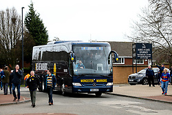 Worcester Warriors arrive at Newcastle Falcons - Mandatory by-line: Robbie Stephenson/JMP - 03/03/2019 - RUGBY - Kingston Park - Newcastle upon Tyne, England - Newcastle Falcons v Worcester Warriors - Gallagher Premiership Rugby