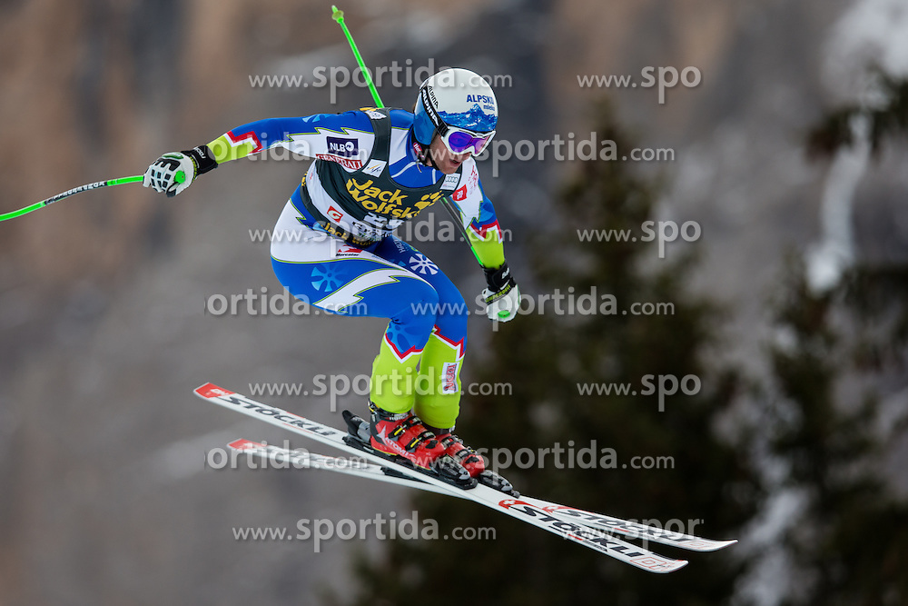18.12.2013, Saslong, Groeden, ITA, FIS Ski Weltcup, Groeden, Abfahrt, Herren, 1. Traininglauf, im Bild Rok Perko (SLO) // Rok Perko of Slovenia in action during mens 1st downhill practice of the Groeden FIS Ski Alpine World Cup at the Saslong Course in Gardena, Italy on 2012/12/18. EXPA Pictures © 2013, PhotoCredit: EXPA/ Johann Groder