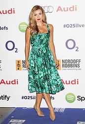 © Licensed to London News Pictures. 04/07/2014, UK. Katherine Jenkins, Nordoff Robbins O2 Silver Clef Awards, London Hilton Park Lane, London UK, 04 July 2014. Photo credit : Richard Goldschmidt/Piqtured/LNP