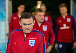 Wayne Rooney during a tour of the stadium before an England press conference ahead of the football match between National teams of Slovenia and England in Round #3 of FIFA World Cup Russia 2018 Qualifier Group F, on October 10, 2016 in SRC Stozice, Ljubljana, Slovenia. Photo by Vid Ponikvar / Sportida