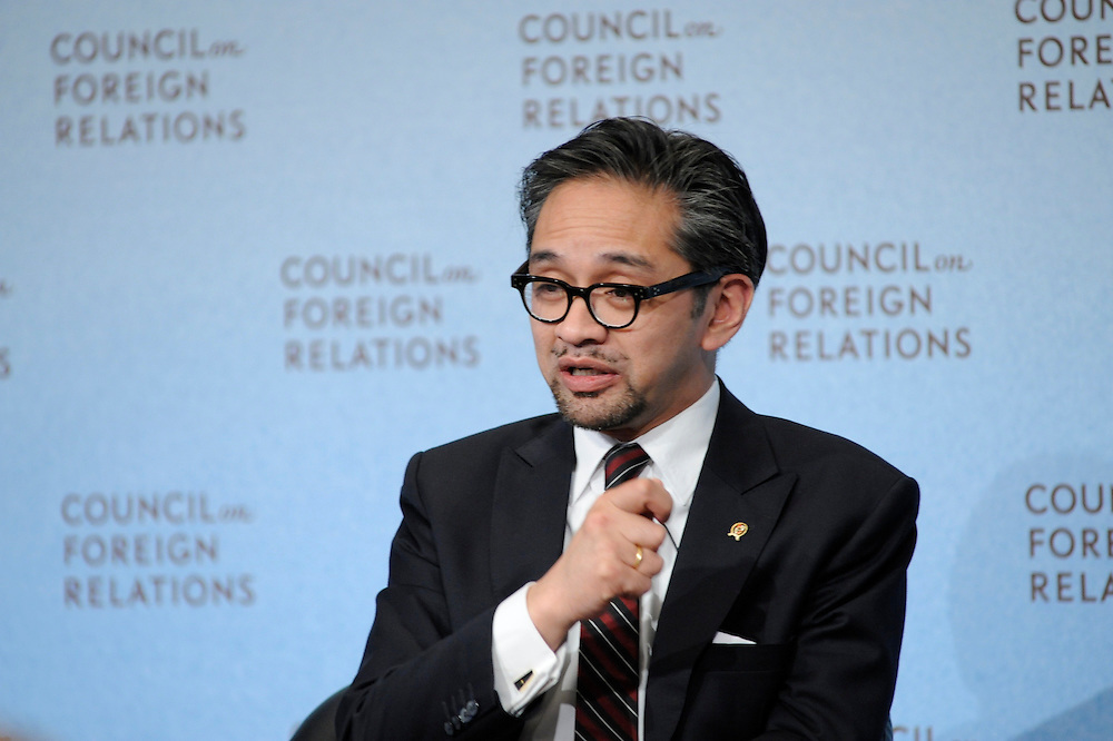 Marty Natalegawa.Minister of Foreign Affairs, Republic of Indonesia.