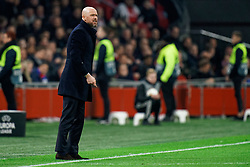 Erik ten Hag of Ajax in action during the Europa League match R32 second leg between Ajax and Getafe at Johan Cruyff Arena on February 27, 2020 in Amsterdam, Netherlands
