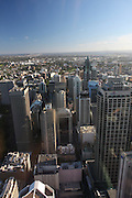 Sydney, Australia Skyline and cityscape as seen from Centrepoint Tower