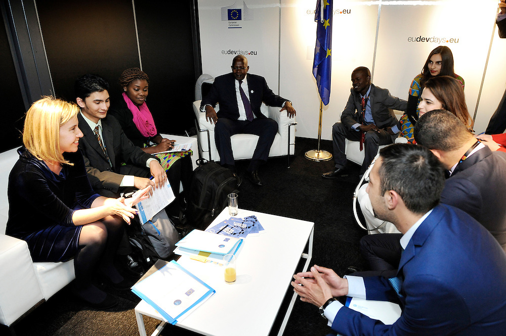 20150603- Brussels - Belgium - 03 June2015 - European Development Days - EDD  -  Sam Kutesa and Mogherini meet you participants © EU/UE