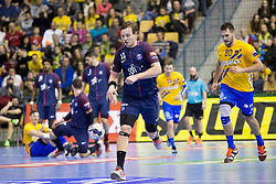 Sander Sagosen of PSG during handball match between RK Celje Pivovarna Lasko (SLO) and Paris Saint-Germain Handball (FRA) in VELUX EHF Champions League, on February 11, 2018 in Dvorana Zlatorog, Celje, Slovenia. Photo by Urban Urbanc / Sportida