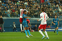 November 5, 2019, St. Petersburg, Russia: Russian Federation. Saint-Petersburg. Gazprom Arena. Football. UEFA Champions League. Group G. round 4. Football club Zenit - Football Club RB Leipzig. Player of Zenit football club (Credit Image: © Russian Look via ZUMA Wire)