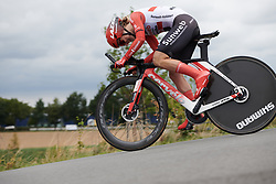 Leah Kirchmann (CAN) at Boels Ladies Tour 2019 - Prologue, a 3.8 km individual time trial at Tom Dumoulin Bike Park, Sittard - Geleen, Netherlands on September 3, 2019. Photo by Sean Robinson/velofocus.com