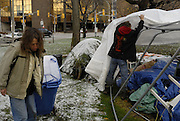 Windsor, Ontario. November 2011. 'Occupy Windsor', Day 47.