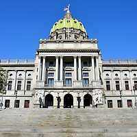Pennsylvania State Capitol Building in Harrisburg, Pennsylvania<br />